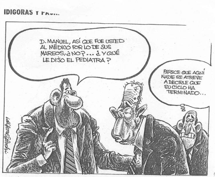 Idigoras y Pachi, Fraga y Rajoy 1