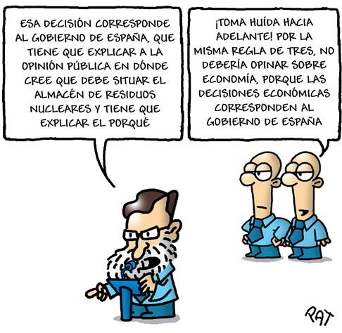Decisiones de Rajoy.