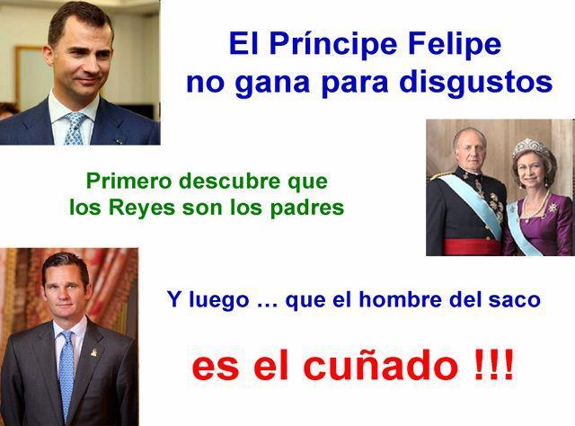 Los disgustos de Don Felipe