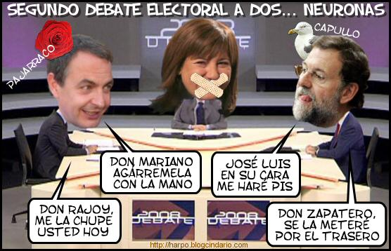 Debate Zapatero-Rajoy