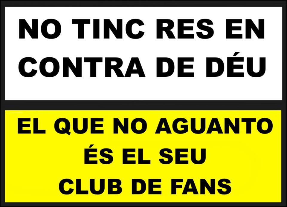 El club de fans de Dios