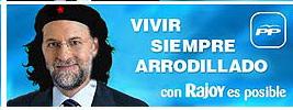 Vivir siempre arrodillado con Rajoy es posible