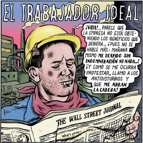 #reformalaboral El trabajador ideal