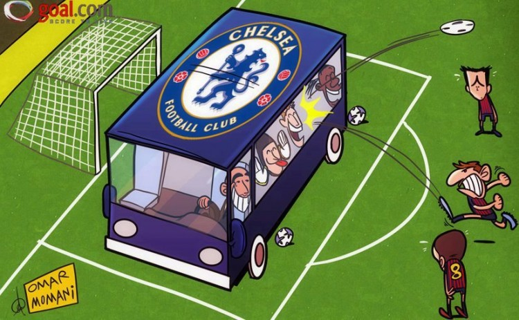 Champions League 2012 - Barcelona-Chelsea