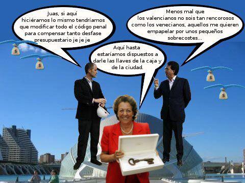 Calatrava en la Comunidad Valenciana