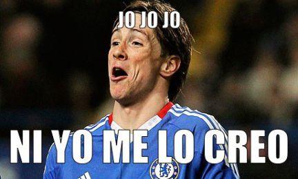 Fernando Torres marca un gol
