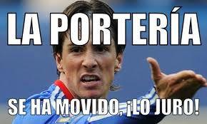 Fernando Torres y la portería mágica