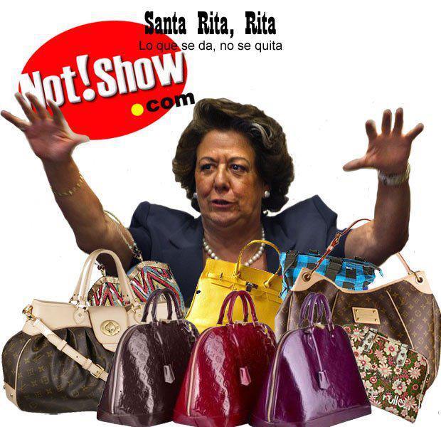 Rita y sus bolsos