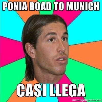 Sergio Ramos road to Munich