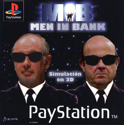 Nuevo juego Men in Bank para la PayStation