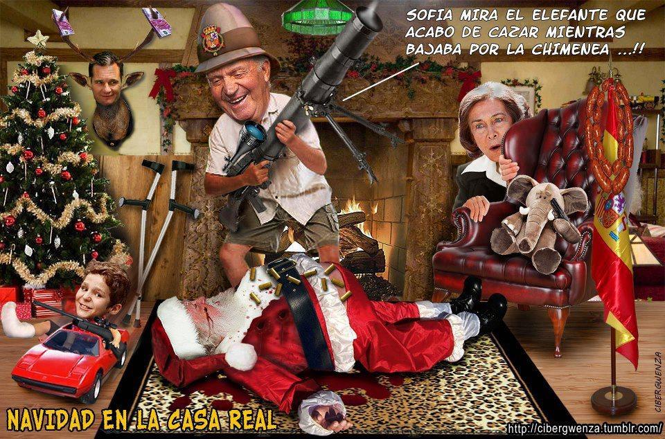 Navidad en la casa real humor chistes bromas - La casa de la navidad ...