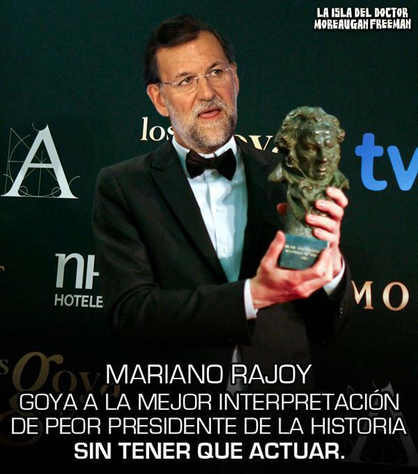 Mariano gana su Goya