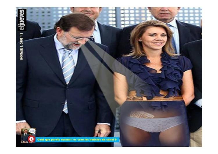 Mariano y el striptease del PP