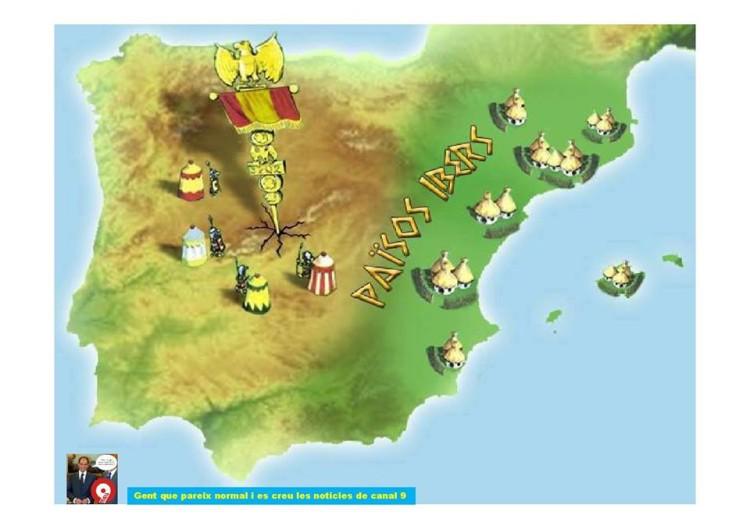 Barbaritat Valenciana, Paísos Ibers