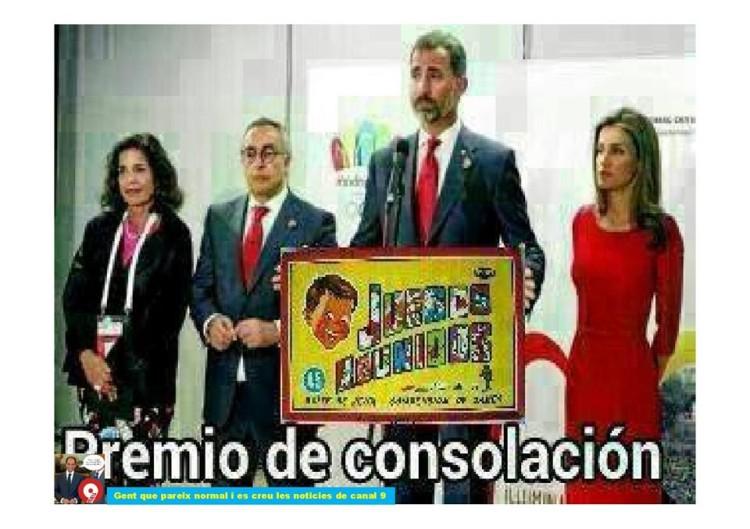 Premio de consolación Madrid 2020