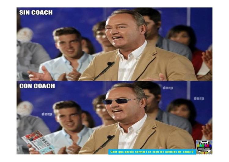 Alberto Fabra, con y sin coach