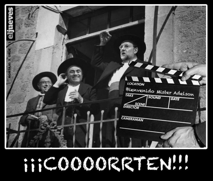 Bienvenido Mister Adelson