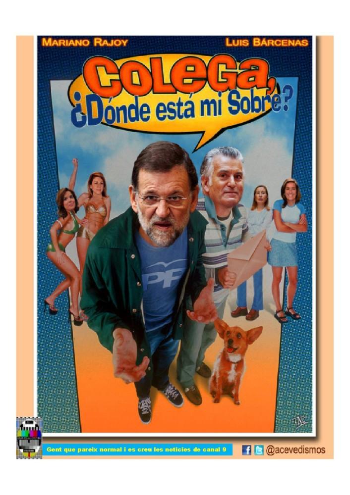 Mariano y Luis en Colega, ¿dónde está mi sobre?