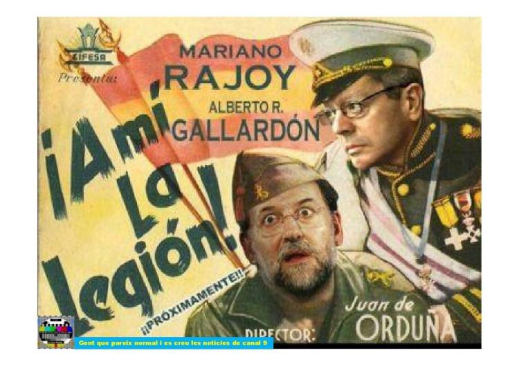 Mariano y Alberto, estrellas de cine