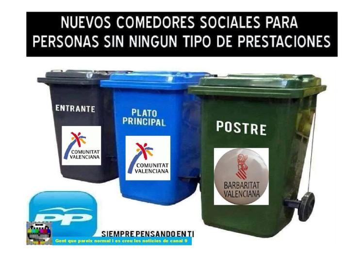 Nuevos comedores sociales en la Comunitat Valenciana