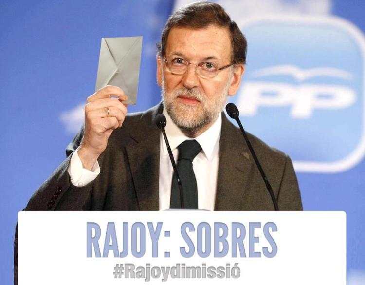 Rajoy muestra sus cartas