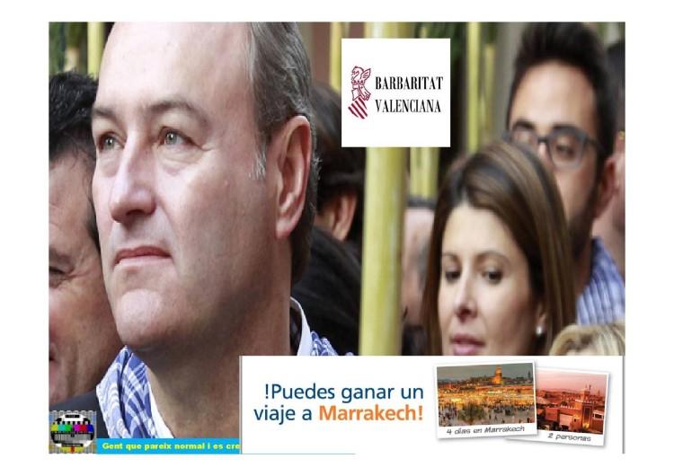 Vota Fabra: Puedes ganar un viaje a Marrakech