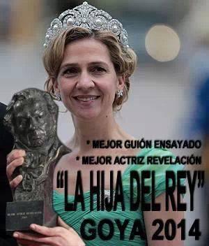 La hija del Rey - Goya 2014