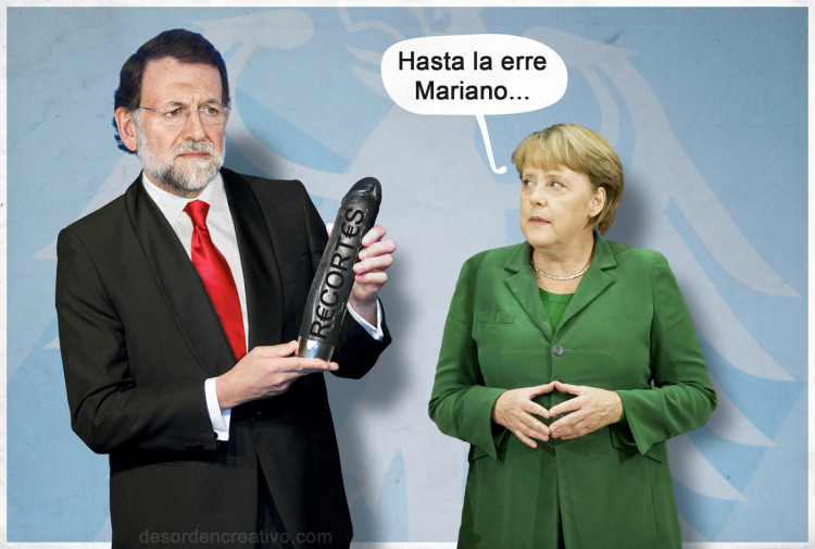 Recortes de Mariano Rajoy