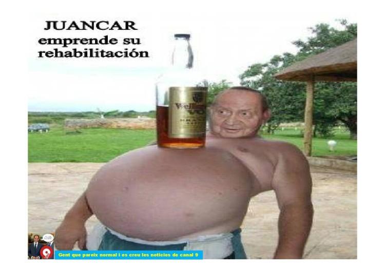 Juancar se rehabilita