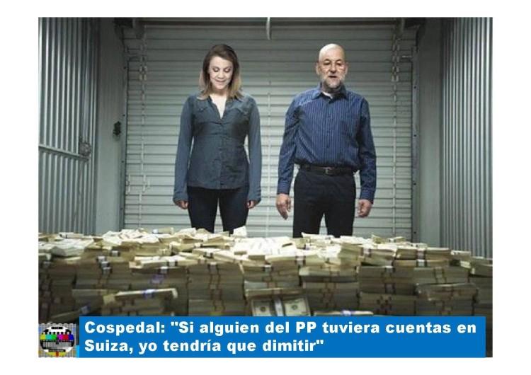 Mariano, la Cospe y el dinero de Suiza