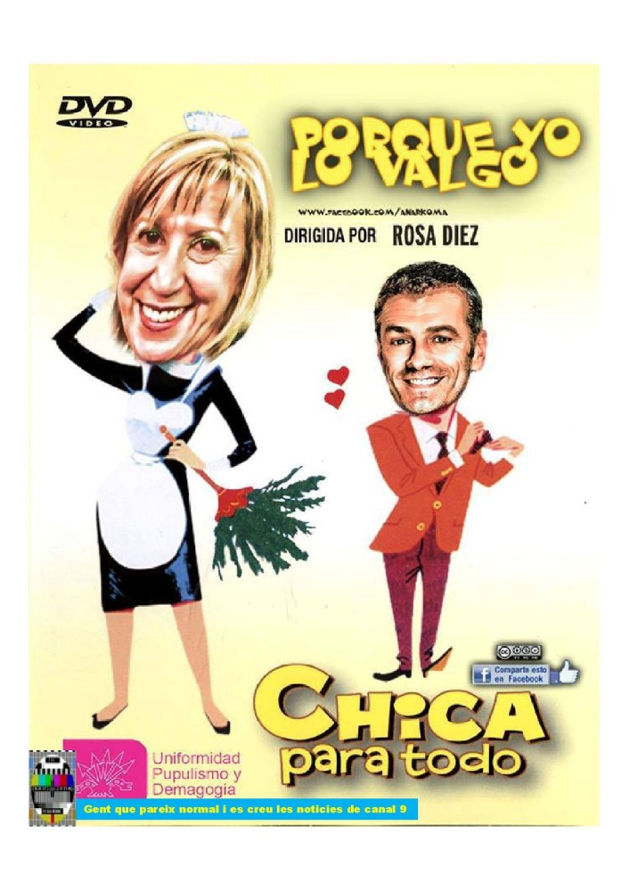 Rosa Díaz es Chica para todo