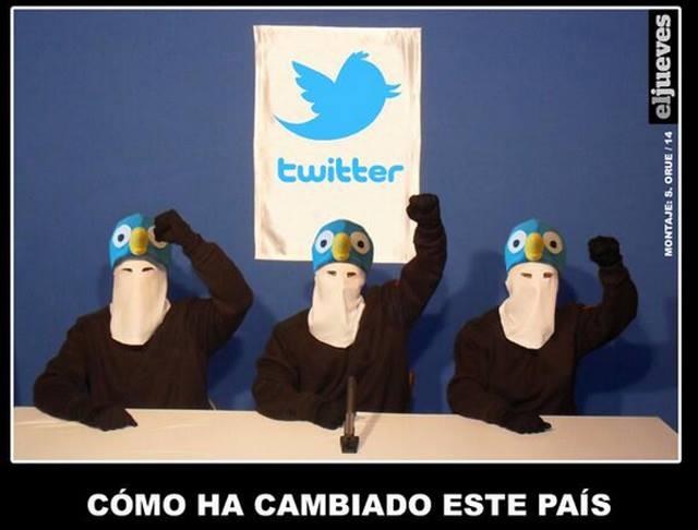 Comunicado de la banda terrorista Twitter