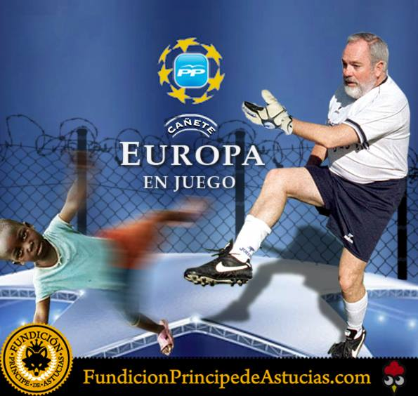 Cañete Juega en Europa