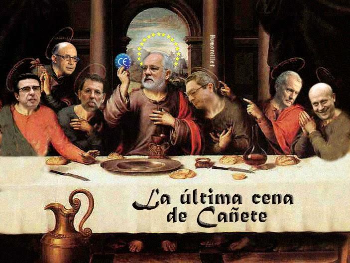 La última cena de Cañete