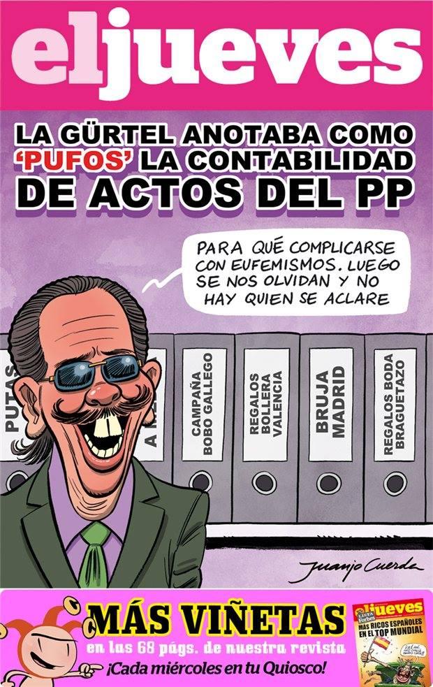 Los pufos de la contabilidad del PP