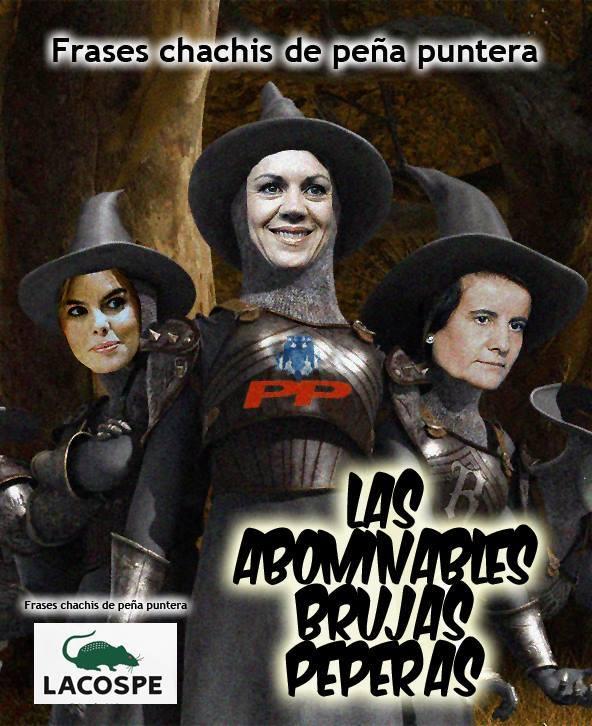 Las abominables brujas peperas