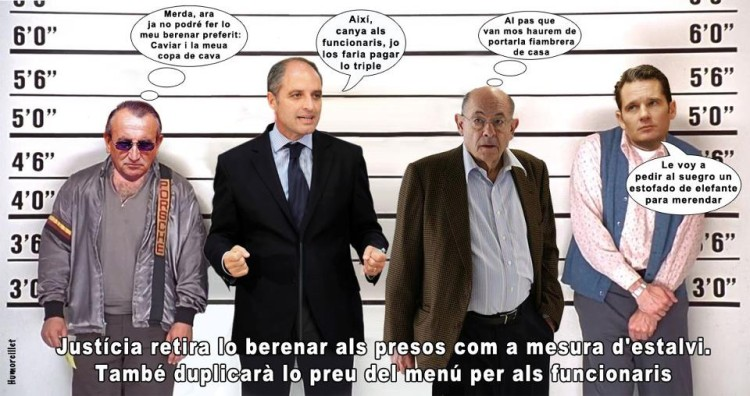 El berenar dels presos