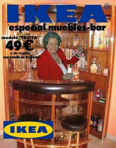 El mueble-bar de Rita