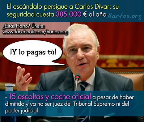 La seguridad de Carlos Dívar