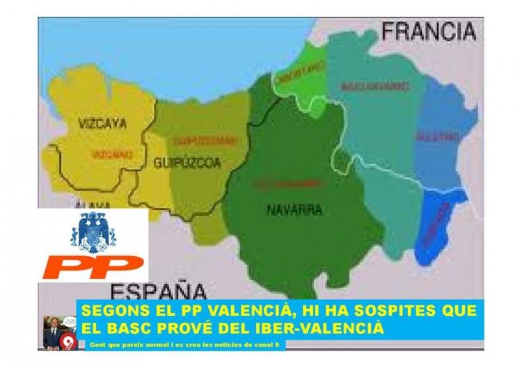 Els bascs segons el PP