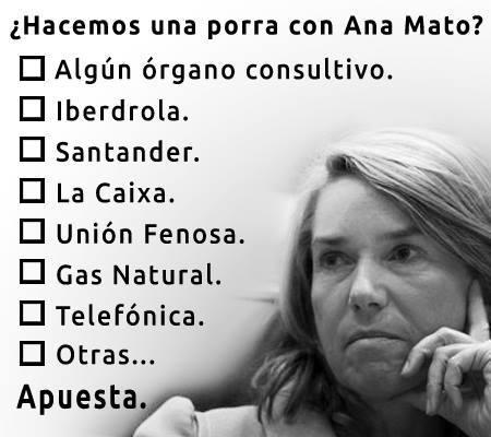 La porra de Ana Mato