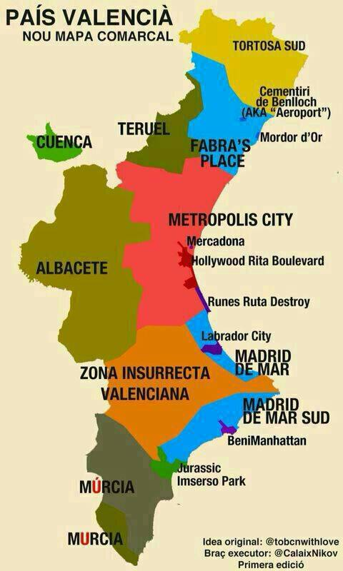 Mapa de la Barbaritat Valenciana