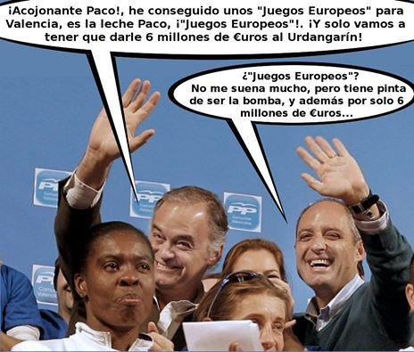 Paco y los Juegos Europeos