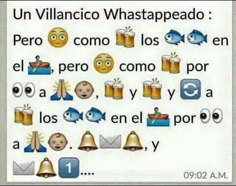 Villancico Whatsappeado