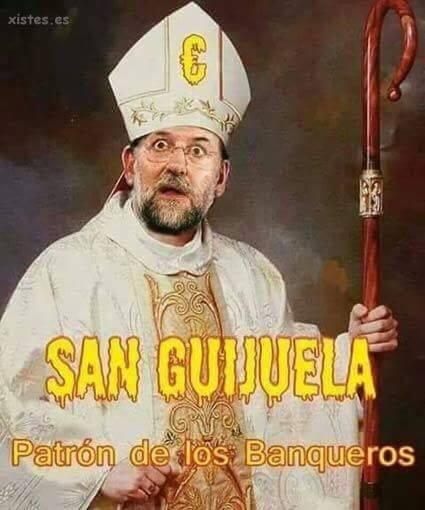 San Guijuela, patrón de los banqueros