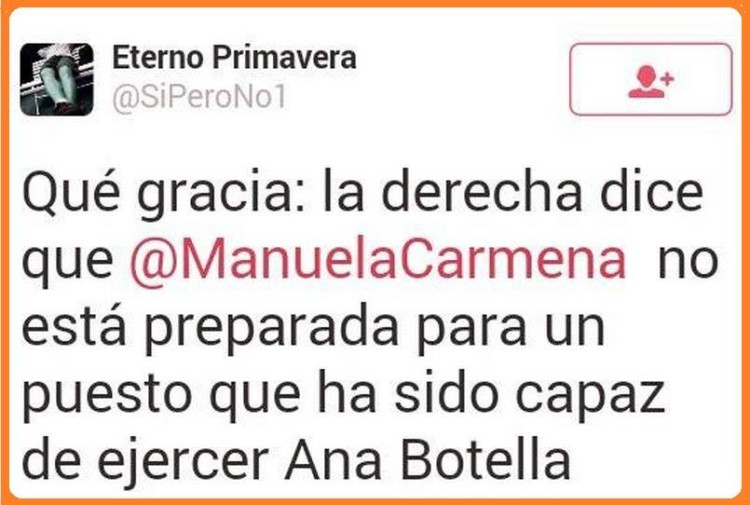 Manuela Carmena vs Ana Botella