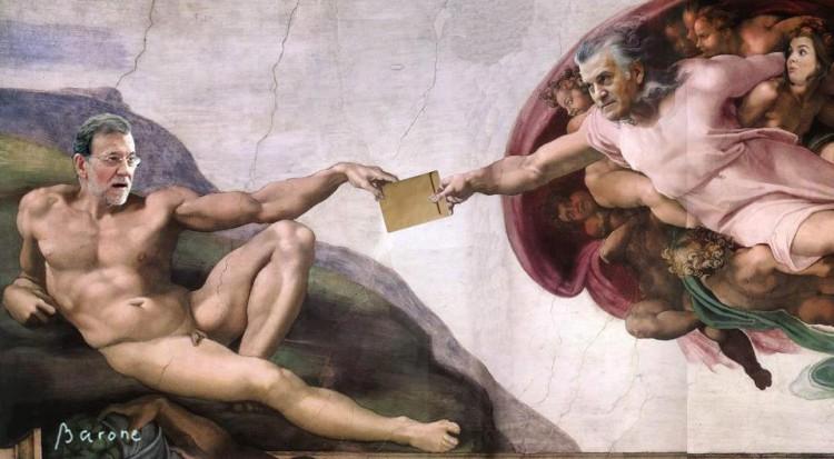 Mariano, Luis y el sobre