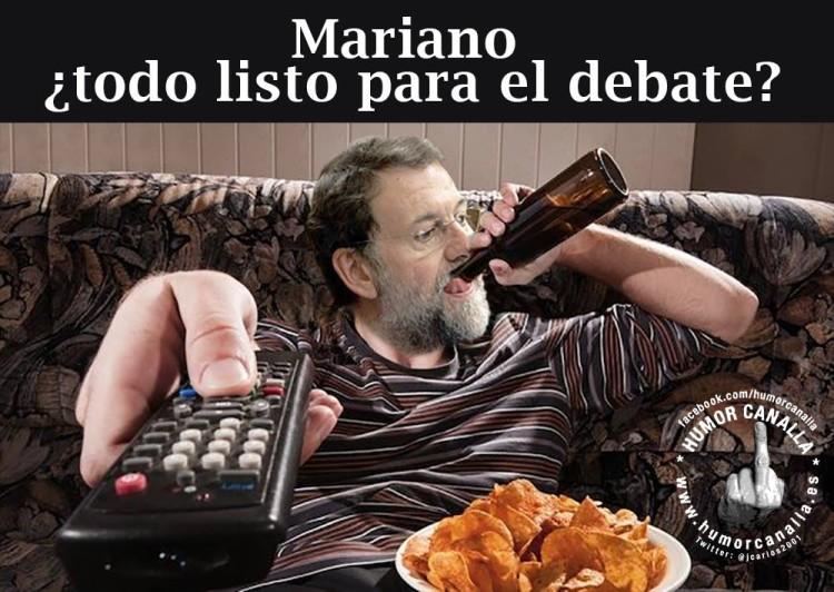 Mariano, listo para el debate