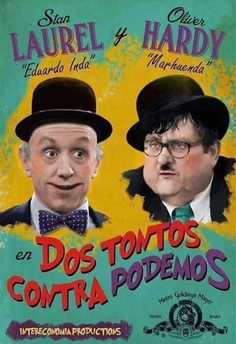 Dos tontos contra Podemos