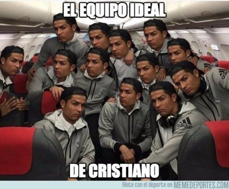 El equipo ideal de Cristiano